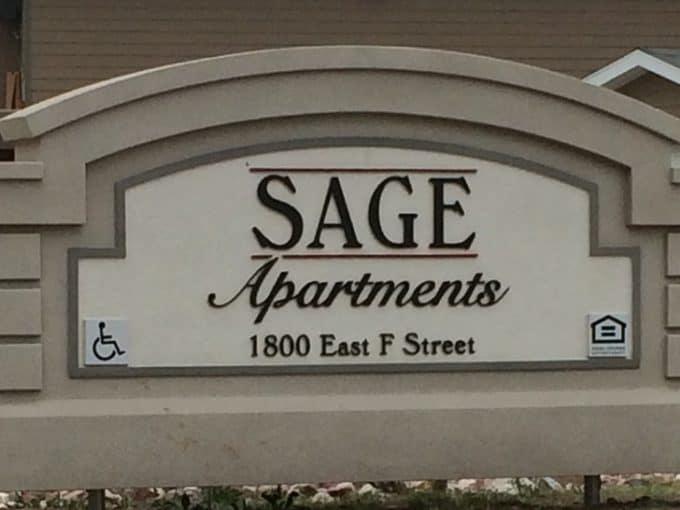 Sage Apt Sign