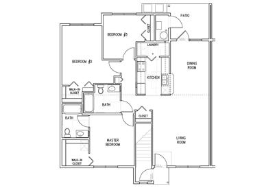 Oakridge First Floor 3Bedroom