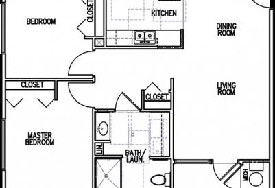 Williston Senior End Unit 2Bedroom