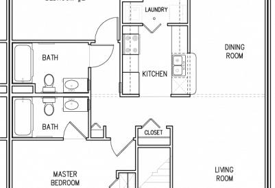 Nakota Ridge 2Bedroom First Floor